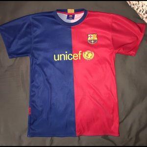 Barcelona Messi jersey